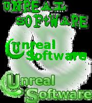 Unreal Software logo history