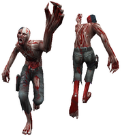 Normal zombie model