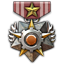 A medal given to a person who failed to enhance weapon for 3000 times