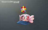 Spring outing hat