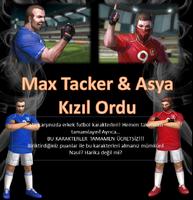 Maxthacker ara soccer turkey poster