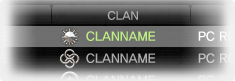 Clannamecolor