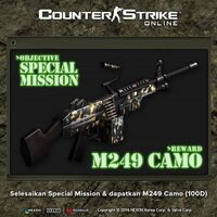 M249camo poster idn