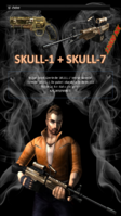 Skull7 turkey poster resale