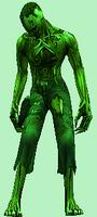 Zombie Scenario: Green Zombie