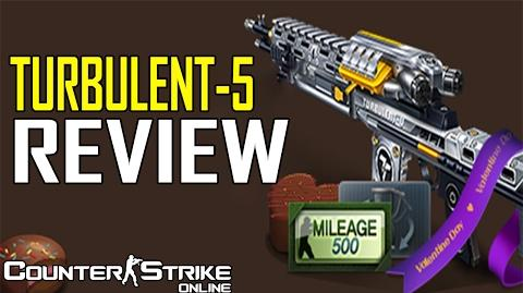 TURBULENT-5 Review - Couinter-Strike Online