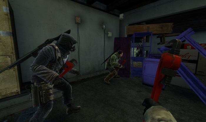 Zombiehouse screenshot