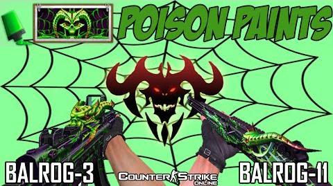 CSO Poison Paint (BALROG 3 and BALROG 11)