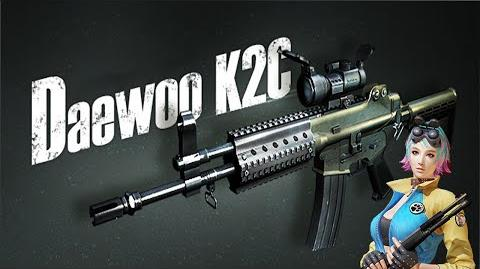 Daewoo K2C Assault Rifle (Counter-Strike Online 2)