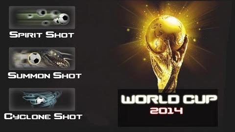 CSO Soccer Power Shots Spirit, Summon, Cyclone (New)