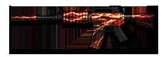 M4A1 Red Lightning
