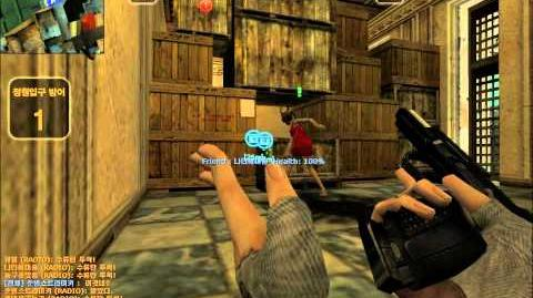 CSO Counter Strike Online Zombie Escape Mode Play