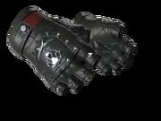 Studded bloodhound gloves bloodhound black silver light large