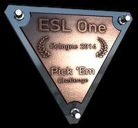 Cologne prediction bronze large