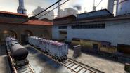 De train bombsite B 1