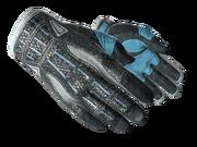 Sporty gloves sporty light blue light large