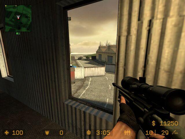 File:CSS cs compound upstairs-T spawn sniper nest catwalk gate.jpg