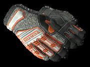Specialist gloves specialist orange white light large