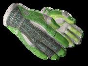 Sporty gloves sporty green light large