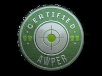 Csgo-stickers-team roles capsule-awper foil