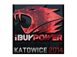 Sticker-katowice-2014-ibuypower-holo