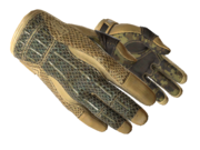 Sporty gloves sporty military light large