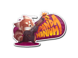 File:Csgo-community-sticker-2-pandamonium.png