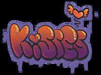 Kisses large