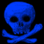 File:Skull blue.png