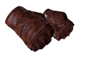 Leather handwraps handwrap red slaughter light large