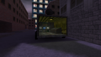 Cs assault surveillance van back