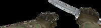 V knife bayonet