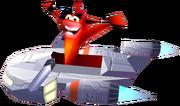 Crash Bash Crash Bandicoot Oxide Ride