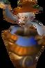 Crash Bandicoot 3 Warped Projectile Throwing Monkey