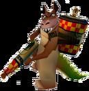Crash Bandicoot 3 Warped Dingodile