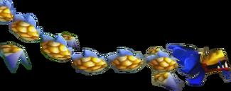 Crash Bandicoot 3 Warped Chinese Dragon