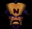 Doctor Neo Cortex Head in Vortex Crash Bandicoot 3 Warped