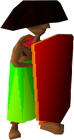 Crash Bandicoot Tribesman