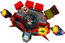 Doctor N. Gin's Mech (Second Form) Crash Bandicoot 3 Warped