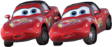 Cars - Mia and Tia