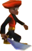 Crash Bandicoot 3 Warped Slashing Scimitar Lab Assistant