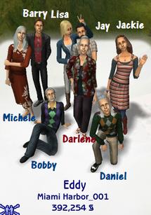 Eddy family (Belladonna Cove redo)