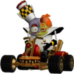 Crash Twinsanity Doctor N. Gin In Crash Nitro Kart Team Cortex Kart
