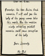 The letter from mr owl