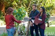 Brigid Brannagh as Annabelle, Matt Davis as Jeff and Jessica Lucas as Skye