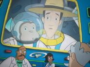 Professor Wiseman in Grease Monkeys in Space