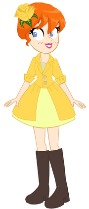 Curious George 4- Daphne Shackleford (Yellow Party Dress)
