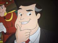 Mr.Glass showing his cartoon teeth