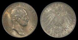 Saxony-Albertine 2 mark 1905