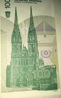 Croatian 100 Dinara (back)